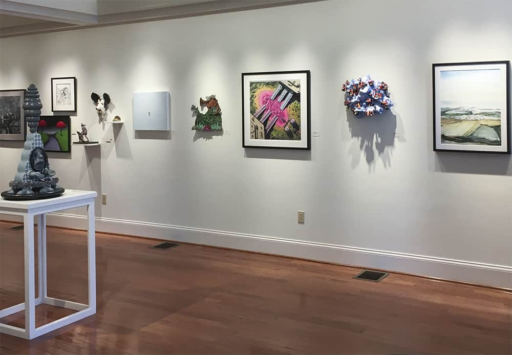 Main Street Arts Gallery Installation View 1