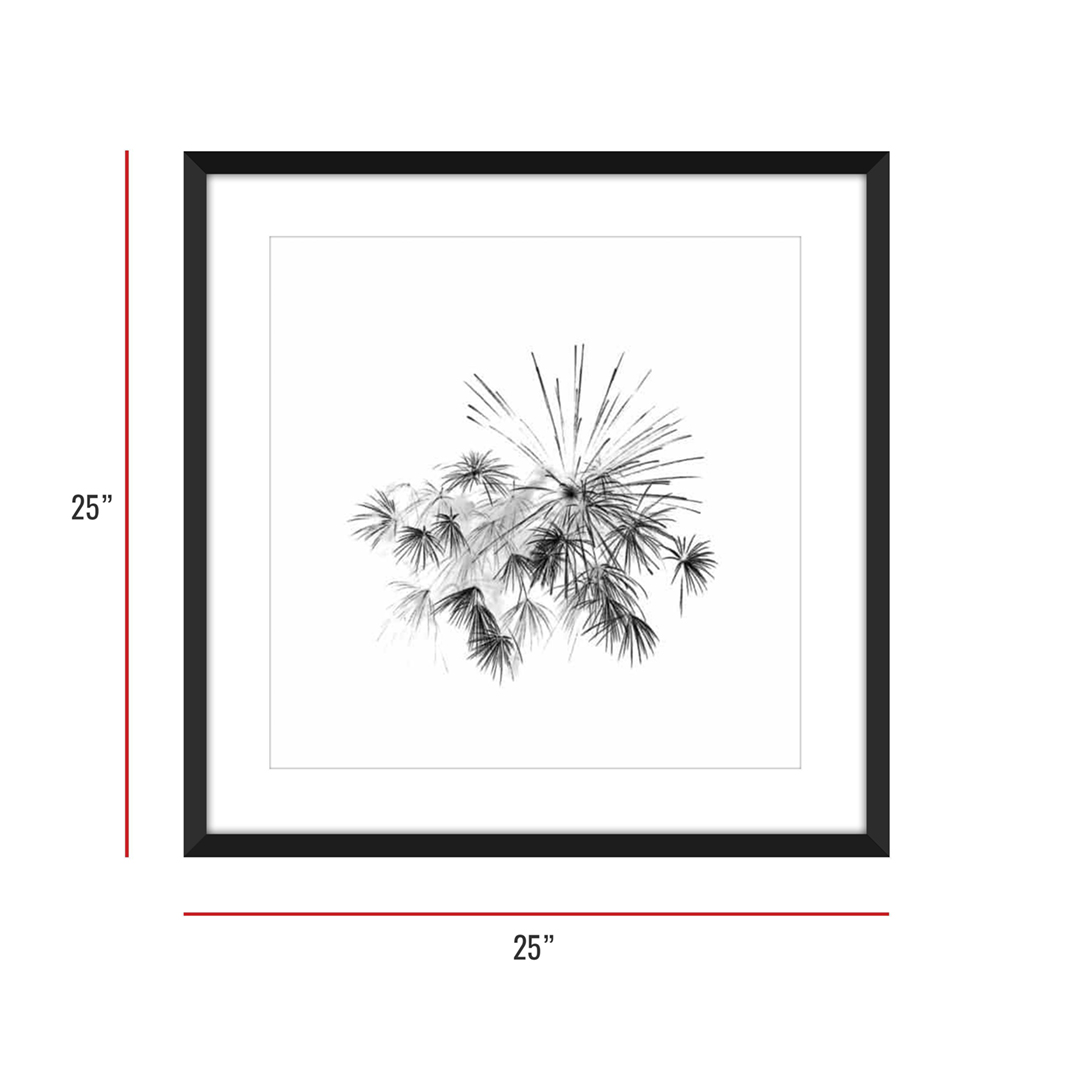 At Burst Point 003 Framed 25x25