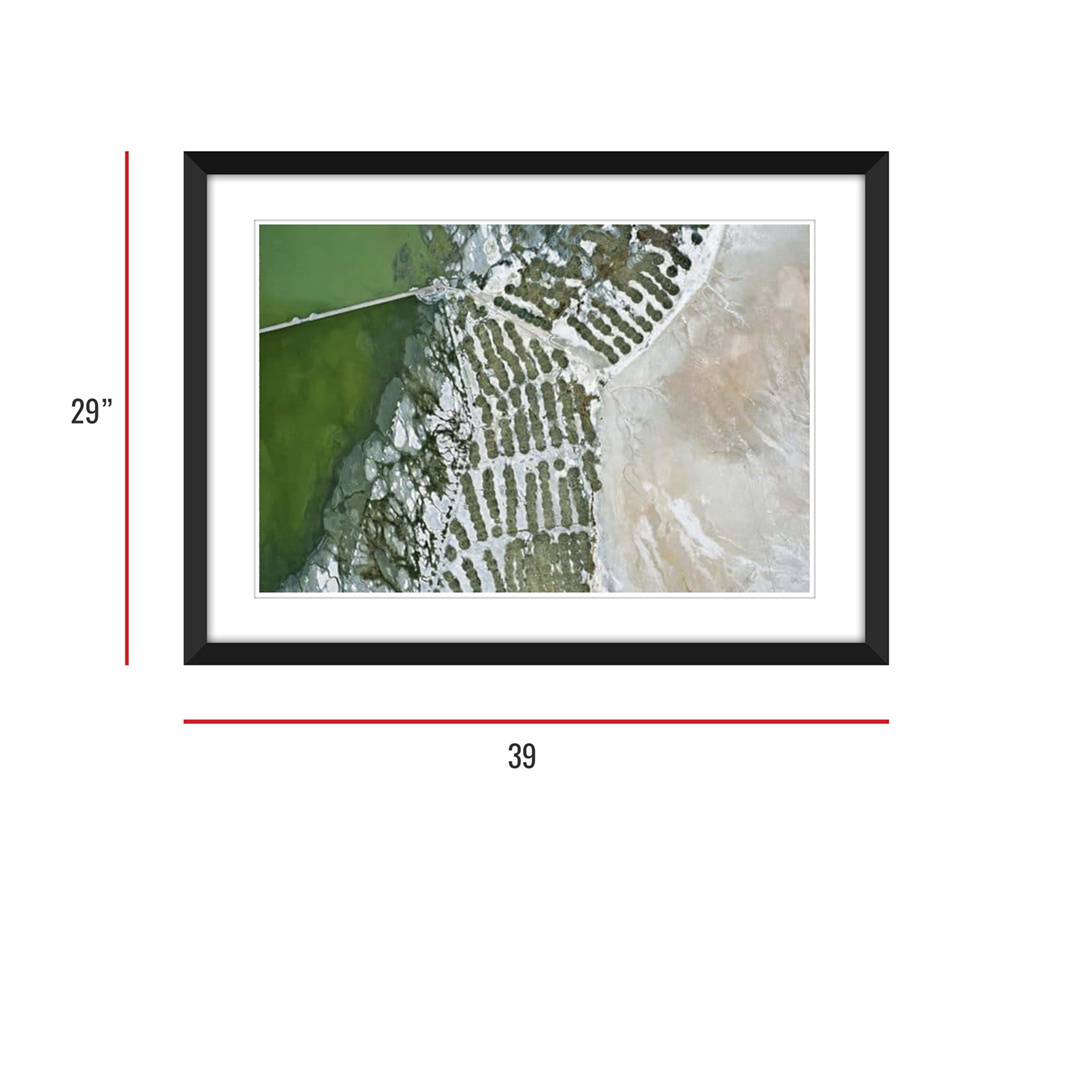 Owens Lake 004 Framed 29x39