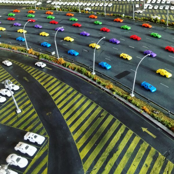Plastic Cars Highway, Toy Stories, 2019