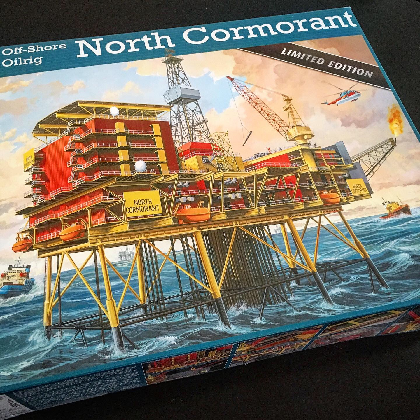 Revell North Cormorant Model Kit, Toy Stories, 2020
