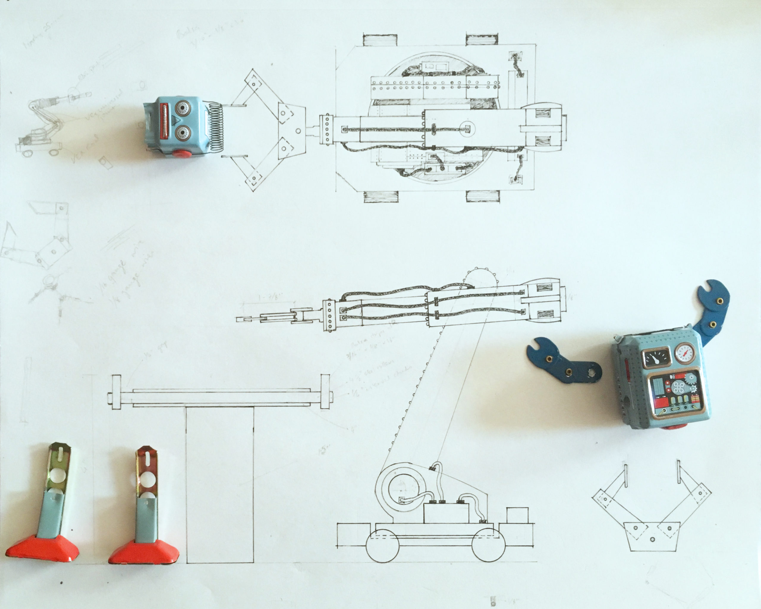 Autobot Schematic, Toy Stories, 2017