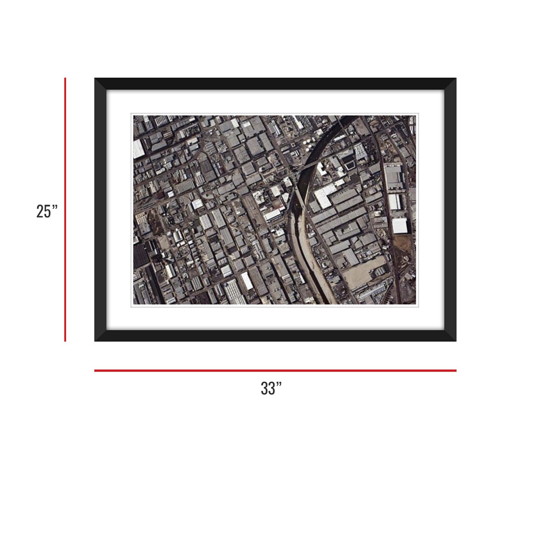 Urbanization 002 Framed 25x33