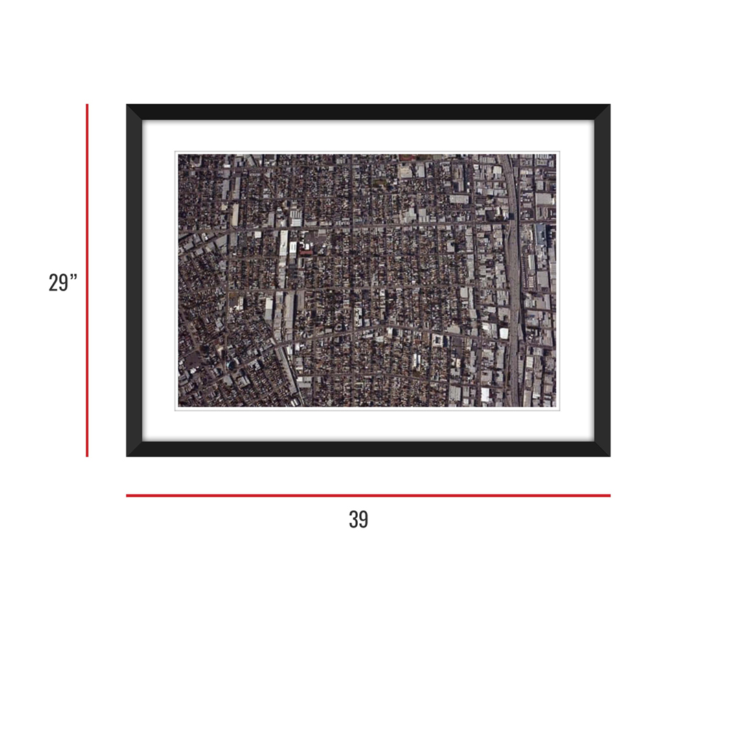 Urbanization 006 Framed 29x39